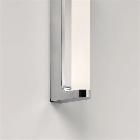 led bathroom wall lights uk astro lighting 0962 avola led ip44 chrome bathroom wall light