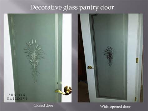 Pantry Door Can Be Any Door Decorative Glass Pantry Doors