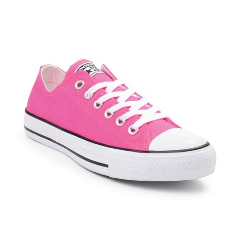 Converse All Pink converse chuck all lo neon sneaker pink 399332