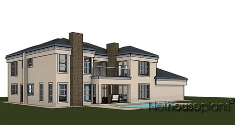 3d home design images of double story building 4 bedroom double storey house plan t396d