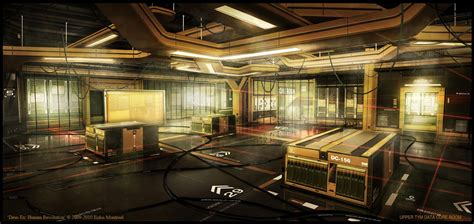 Revolution Room by This Isn T Office Space It S Deus Ex Kotaku Australia