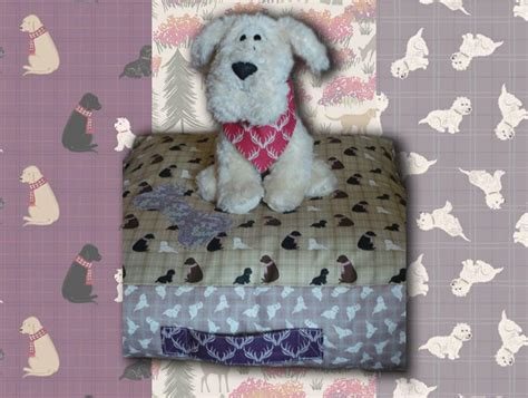 dog bed pattern free dog bed pattern a walk in the glen fabric lewis