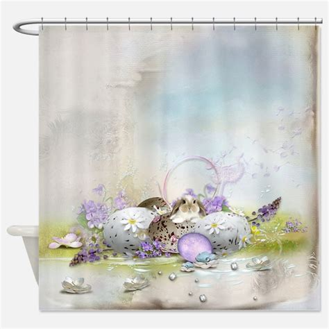 easter shower curtains cute bunny shower curtains cute bunny fabric shower
