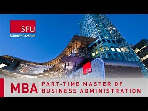 Part Time Mba Brisbane by Beedie Part Time Mba Get Your Mba While You Work