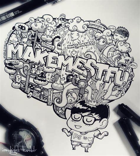 doodle make doodle make me stfu by leimelendres on deviantart