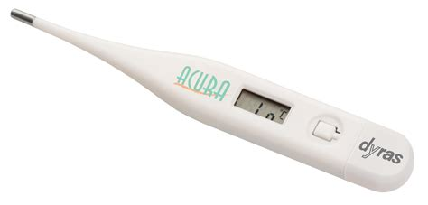 Termometer Digital Gp Care dyras clinical digital thermometer quot acura quot