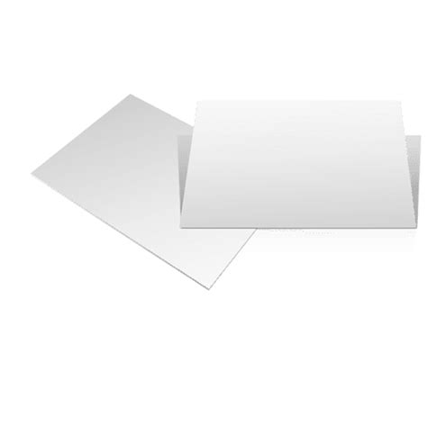 cards transparent 4 x 6 template for two blank cards transparent png svg vector
