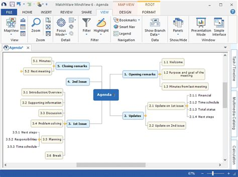 free mapping software mind map software mindview mind mapping software