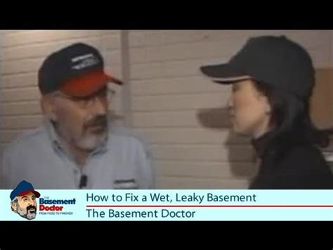 how to fix a leaky basement flood water sump