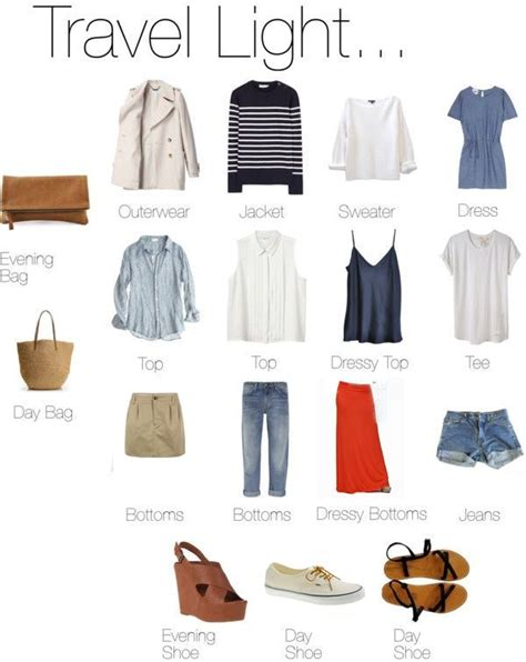 Travel Wardrobe by Updated Version Of Travel Light Capsule Travel
