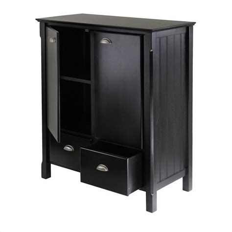 solid wood black cabinet solid wood cabinet in black 20136