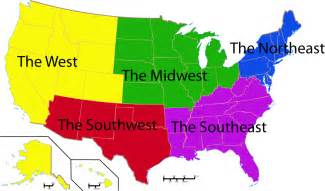 webquest quot regions of the united states quot home