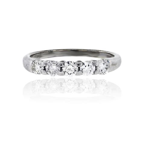 Wedding Bands South Florida by 14k White Gold 60ctw Wedding Band