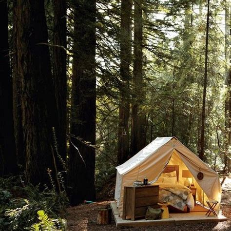Tent Cabins Northern California by Gling Tent Backyard Design