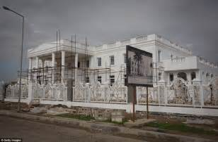 the white house residence white house replica among luxury homes in kurdish dream