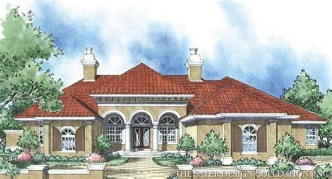 Pin By Sater Design Collection On Mediterranean House Sater Mediterranean Home Plans