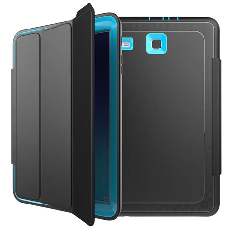 9 Samsung Cases Shockproof Rubber Folio Cover Stand For Samsung Galaxy Tab E 9 6 Sm T560 Ebay