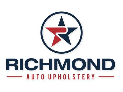 Car Upholstery Richmond Va by Logo Design Portfolio Jellyflea Creative