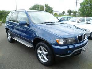 Used Bmw X5 Used Blue Bmw X5 2001 Diesel 3 0d 5dr Auto 4x4 Excellent
