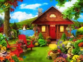Country Cottage And Gardens - fairytale cottage other amp abstract background wallpapers on desktop nexus image 1667865