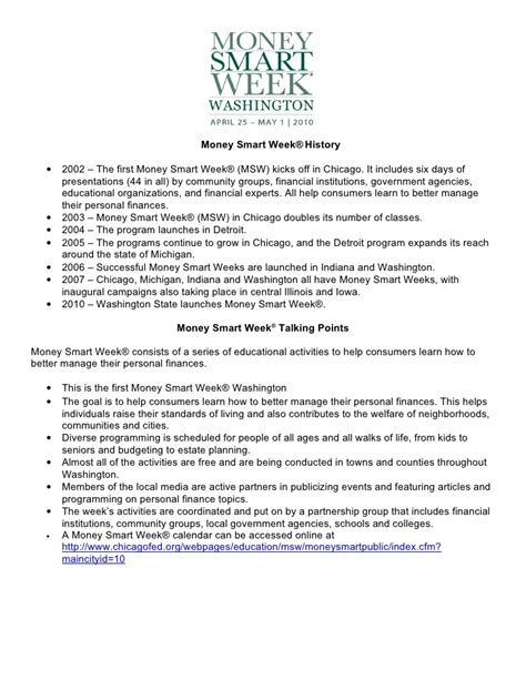 Https Wa Mba Org Events Department Finanical Institution Update by Wa Money Smart Week 2010 Tool Kit