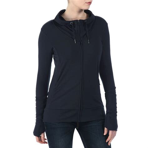 bench ladies hoodies bench crossector full zip hoodie women s evo outlet