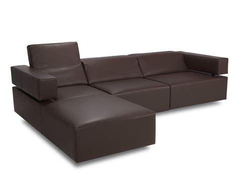 sofa headrest corner sofa with headrest cubix jr 9450 by jori