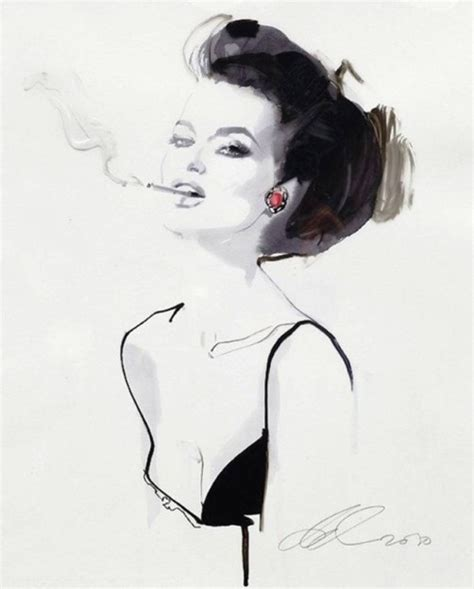 fashion illustration david downton will save viola in everything