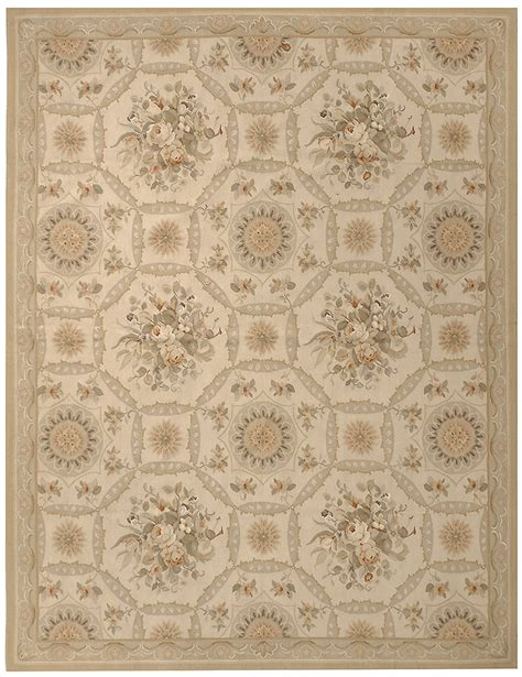 Due Process Rugs by Due Process Due Process Aubusson Reims Ivory Gold Area