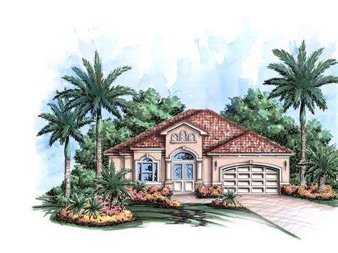 caribbean home plans mediterranean gem 66306we 1st floor master suite cad