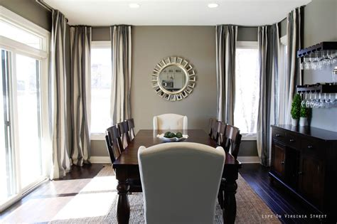 dining room reveal on virginia