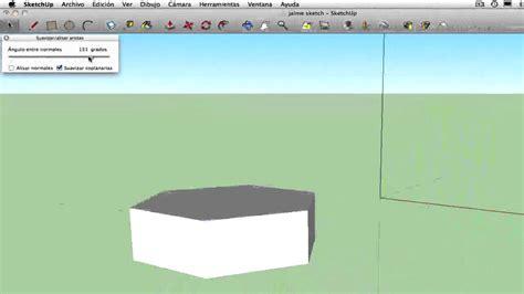 imagenes google sketchup como suavizar aristas de su modelo en google sketch up