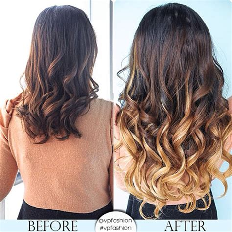 ombre extensions vpfashion customized hair extensions in 2014 trendy hair colors vpfashion