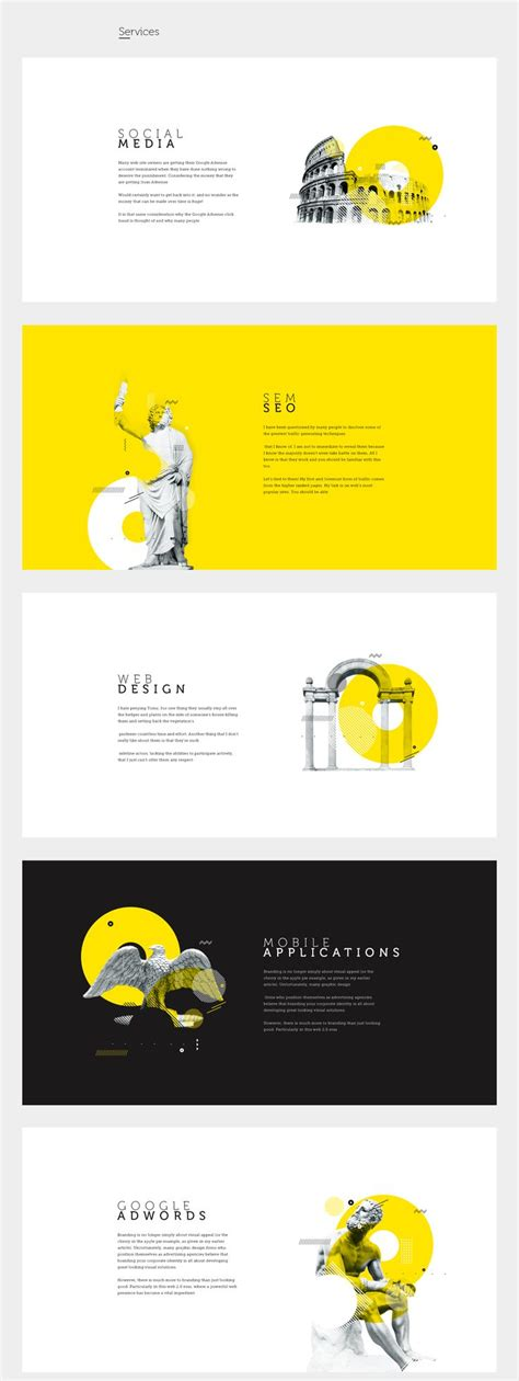 presentation layout website best 25 presentation design ideas on pinterest