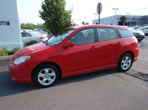toyota awd hatchback buy used matrix awd hatchback automatic 2006 toyota