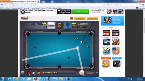 tutorial how to hack 8 ball pool 8 ball pool multiplayer line hack youtube