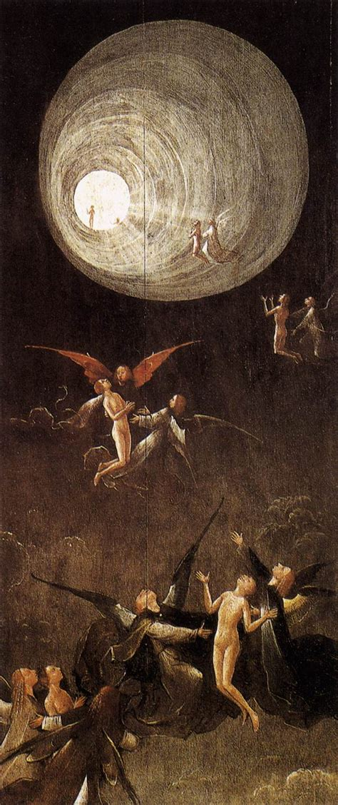 hieronymus bosch visions of paradise ascent of the blessed by bosch hieronymus
