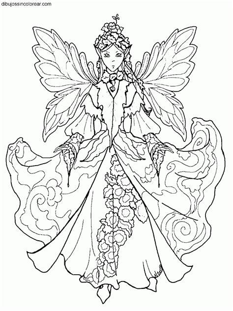 imagenes de flores reales para imprimir dibujos de hadas para colorear