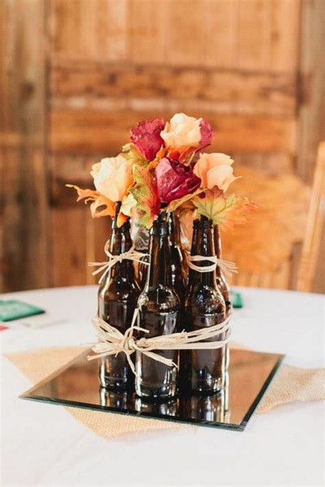 25  best ideas about Beer Centerpieces on Pinterest