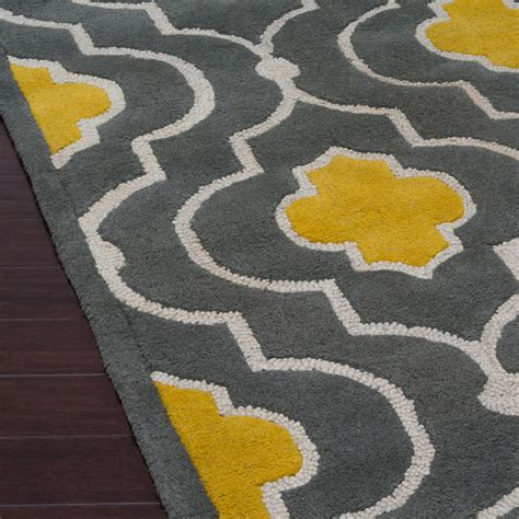 Grey And Yellow Rugs by Loloi Brighton Gold Gray Rug Tulips