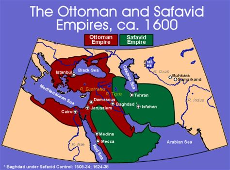 ottoman empire sunni the rule of the safavids