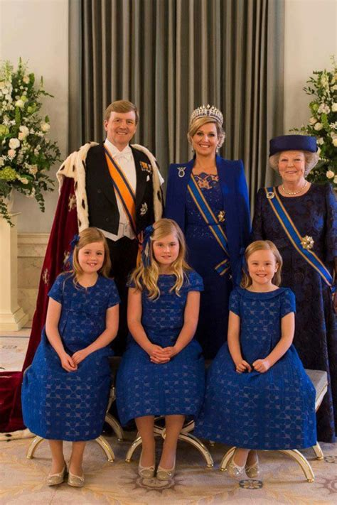 family new the netherlands new royal family