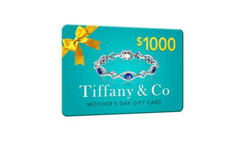 Tiffany Gift Cards - get 1000 in tiffany co gift cards for mother s day one field us only