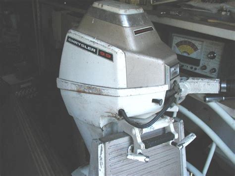 used chrysler outboard parts find chrysler 9 9 hp electric start outboard motor with