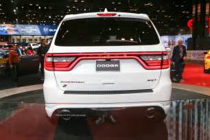 What Does Srt Stand For Dodge 2018 Dodge Durango Srt Look The Nearly 500 Hp Three