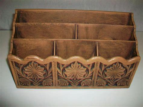 Vintage Desk Organizers Vintage Lerner Desktop Desk Top Organizer Letter File Faux Woodgrain Look Ebay