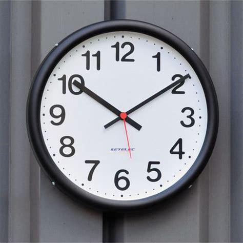 horloge exterieur etanche horloge 233 tanche pour int 233 rieur et ext 233 rieur piles manutan fr