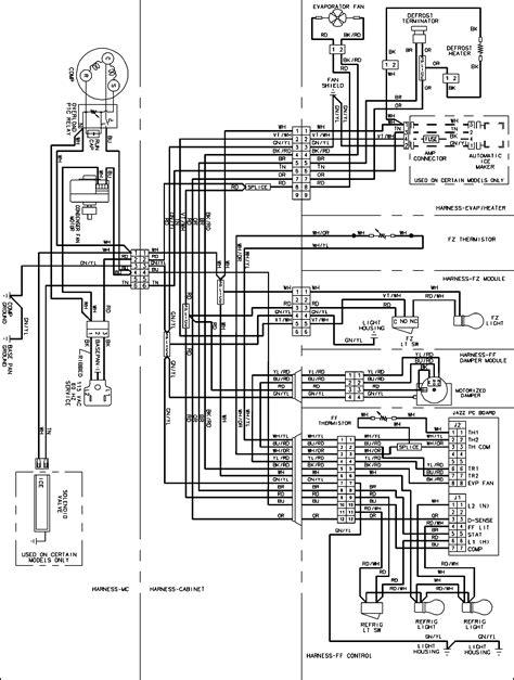 amana refrigerator wiring diagram efcaviation