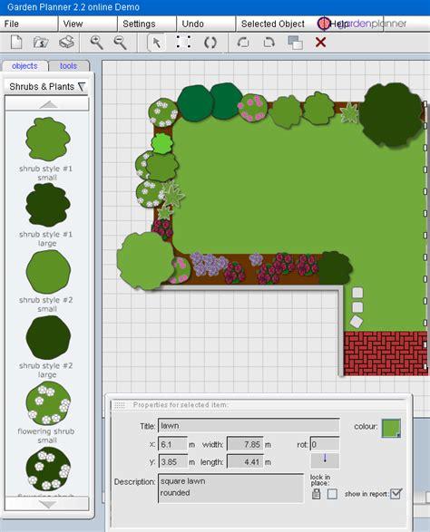 free design garden online garden design plans online pdf