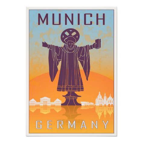 posters zazzle vintage munich poster photo print zazzle